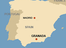 Map - Rural Granada Villas